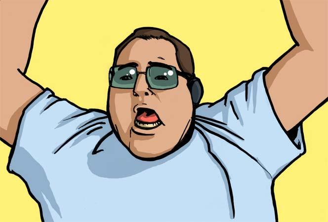Fat Guy Singing Numa 65